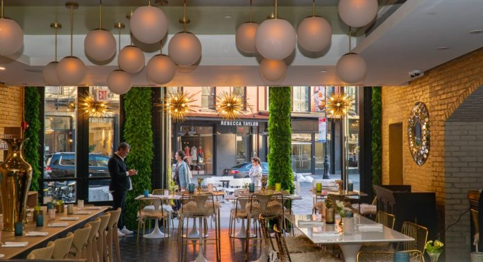 New Coco J Adore Restaurant Is A Modern French Bistro In
