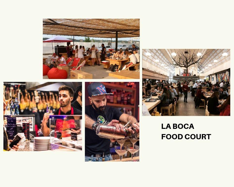 Bordeaux France Food Court