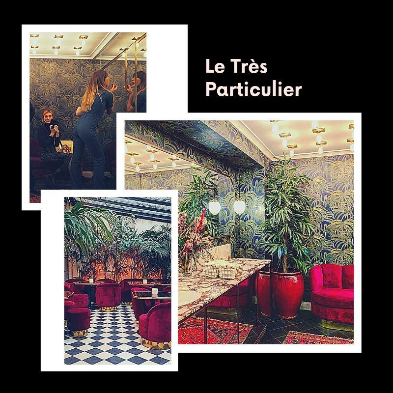 luxury toilets Paris bars hotels
