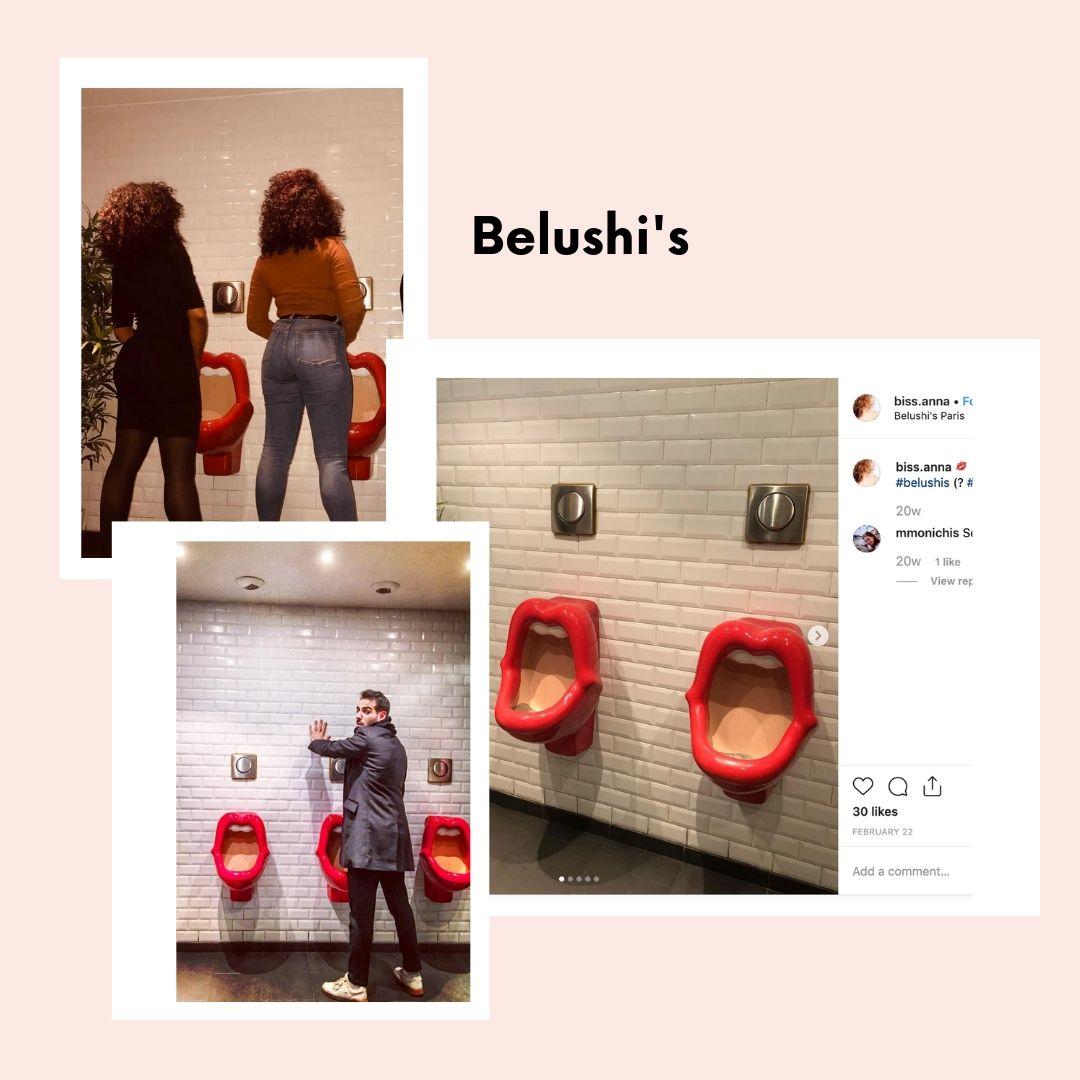 Luxury toilets Paris