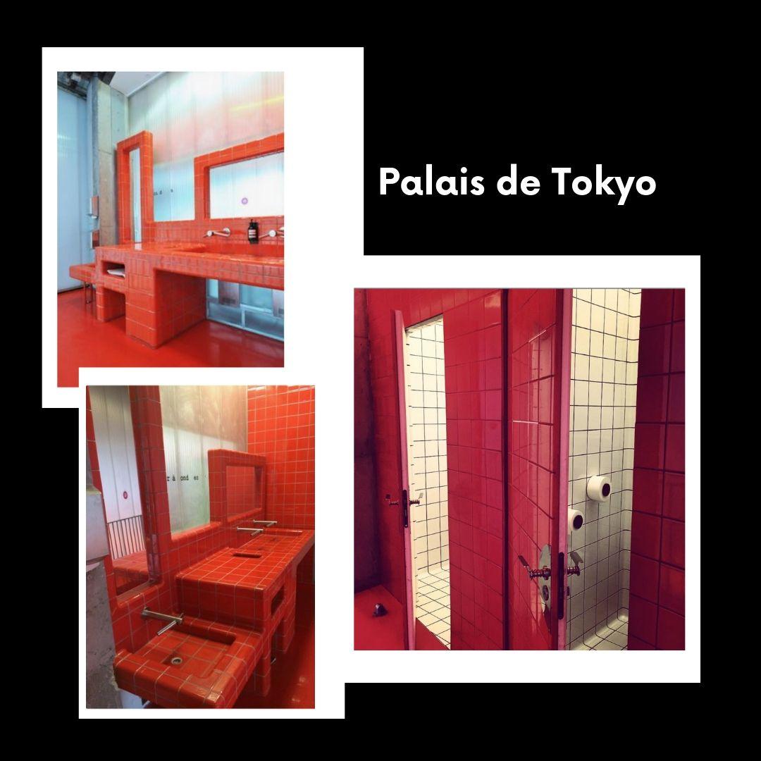 Luxury toilets Paris museums