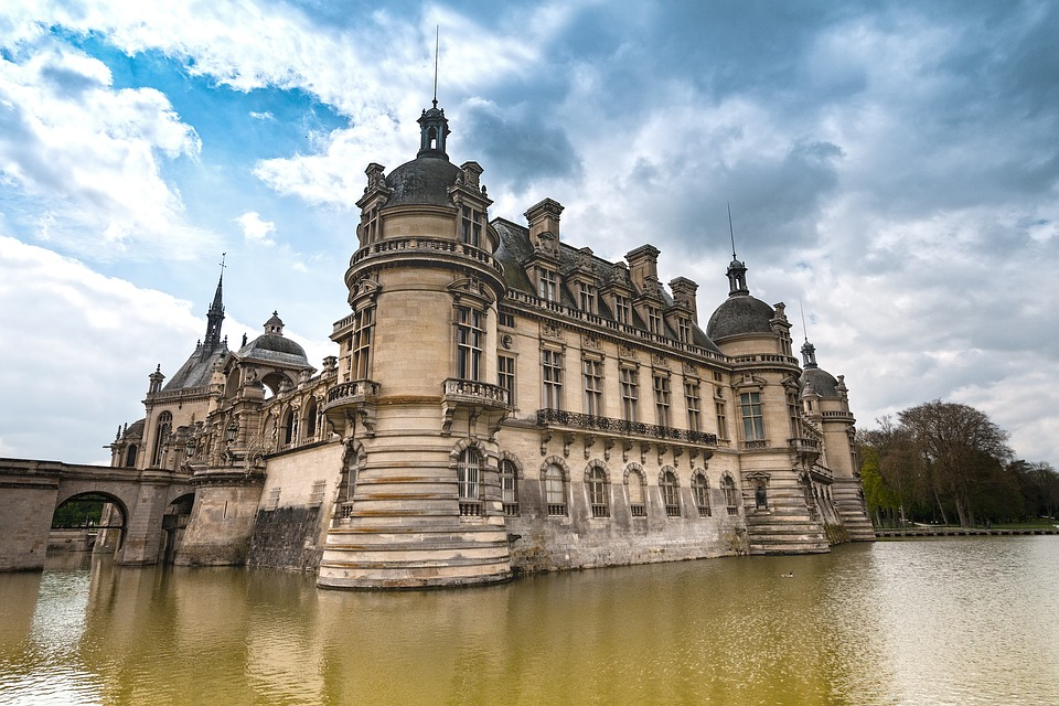 Chateau de Chantilly Pixabay