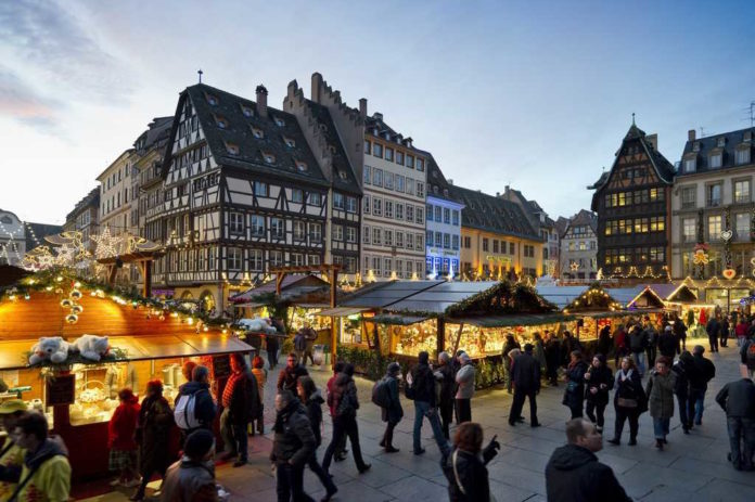 Strasbourg Christmas Market.The Strasbourg Christmas Market Is Coming To New York In