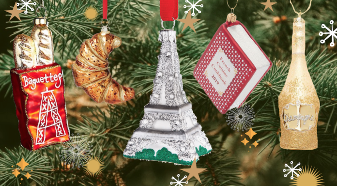 28 French Inspired Ornaments To Decorate Your Tree With Frenchly